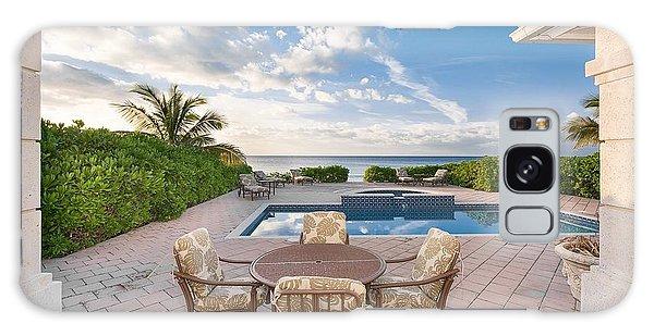 Bahamas Galaxy Case - Pool Ocean Luxury Bahamas by Mery Moon