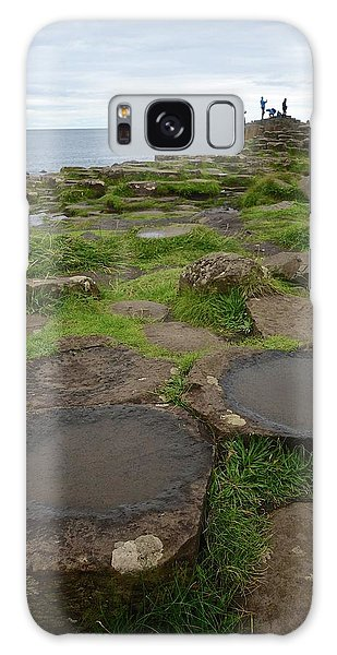 Pools On The Giant's Causeway Galaxy Case by Matt MacMillan