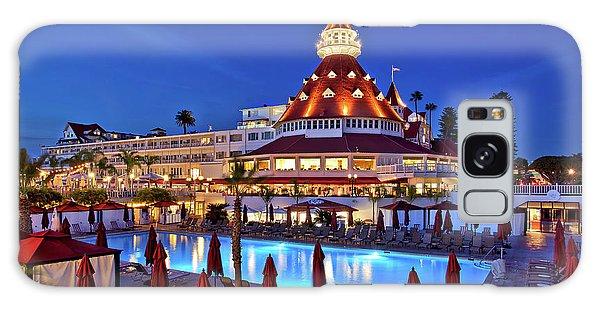 Poolside At The Hotel Del Coronado  Galaxy Case