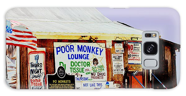 Poor Monkey's Juke Joint Galaxy Case