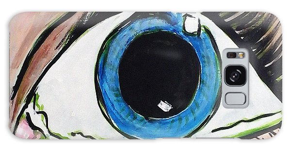 Pop Art Eye Galaxy Case