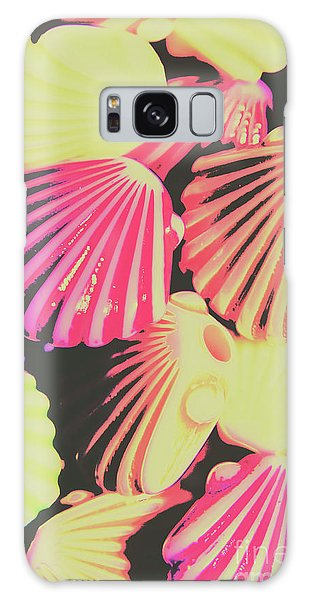 Neon Galaxy Case - Pop Art From Fluorescent Beach by Jorgo Photography - Wall Art Gallery