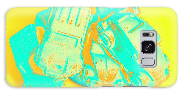 Old Car Galaxy Case - Pop Art Pileup by Jorgo Photography - Wall Art Gallery