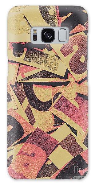Language Galaxy Case - Pop Art Press by Jorgo Photography - Wall Art Gallery