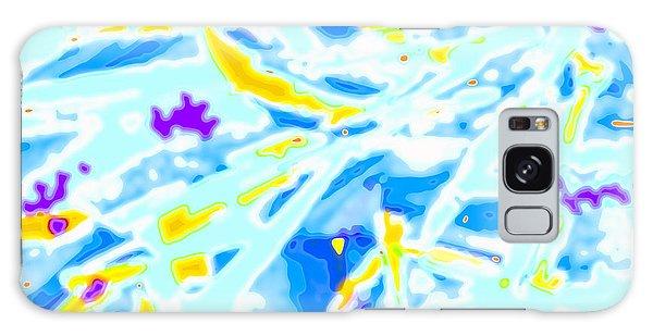 Galaxy Case featuring the digital art Pop Art Swirls And Shapes by Joy McKenzie