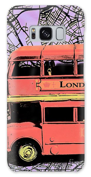 Pop Art Uk Galaxy Case