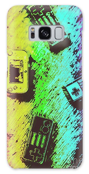 Colours Galaxy Case - Pop Art Video Games by Jorgo Photography - Wall Art Gallery