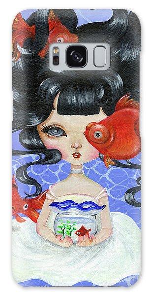 Pop-eyed Goldfish Galaxy Case