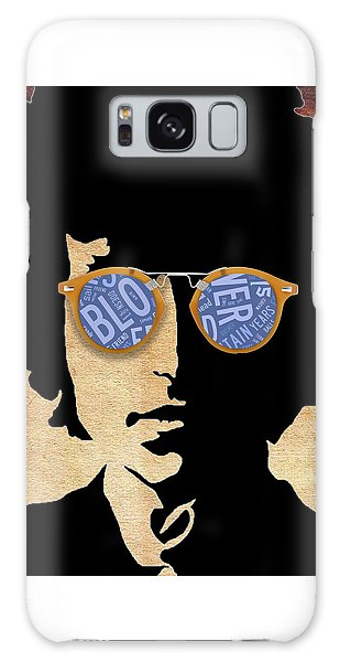 Pop Icon Bob Dylan Galaxy Case