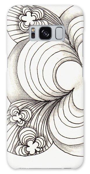 Popcloud Blossom Galaxy Case by Jan Steinle