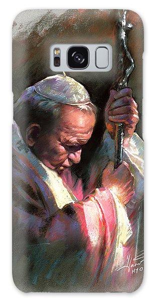 Fine Galaxy Case - Pope John Paul II by Ylli Haruni
