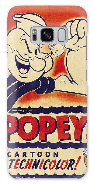 Popeye Technicolor Galaxy Case