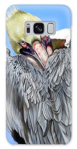 Popeye The Pelican Galaxy Case
