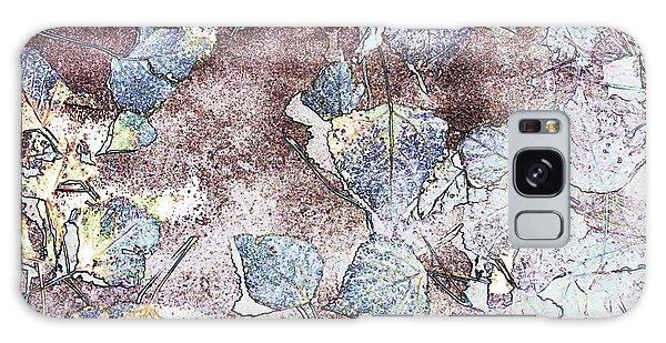 Poplar Leaf Path Galaxy Case