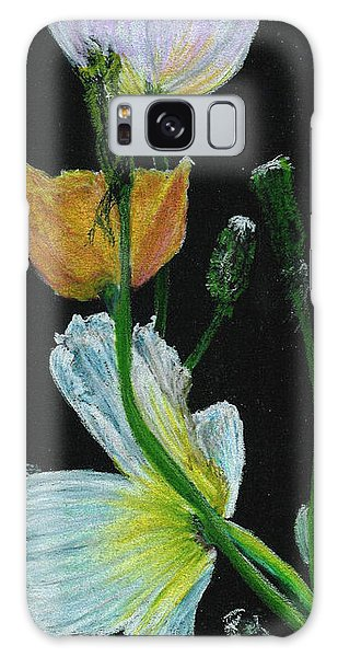 Poppies 1 Galaxy Case