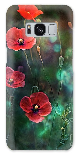 Poppies Fairytale Galaxy Case