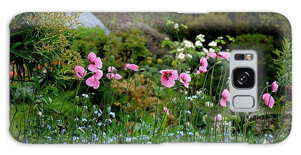 Poppies Of The Great Dixter Galaxy Case by Tanya Searcy