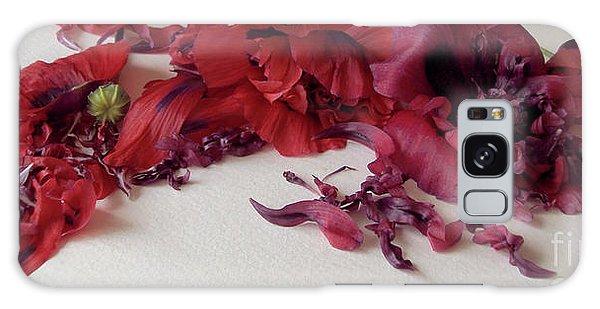 Poppies Petals Galaxy Case