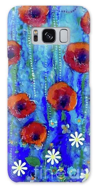 Poppy Dance Galaxy Case