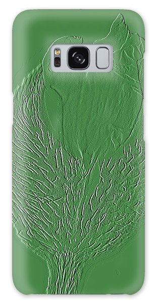 Poppy Embossing  Galaxy Case