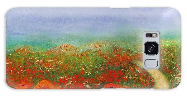Poppy Field Impressions Galaxy Case