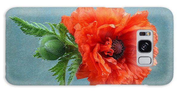 Poppy Flower Galaxy Case