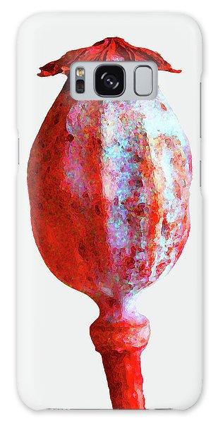 Poppy Seedhead - Red Galaxy Case