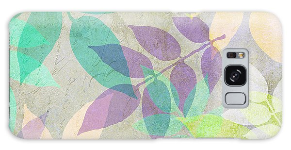 Leaf Galaxy Case - Poppy Shimmer IIi  by Mindy Sommers