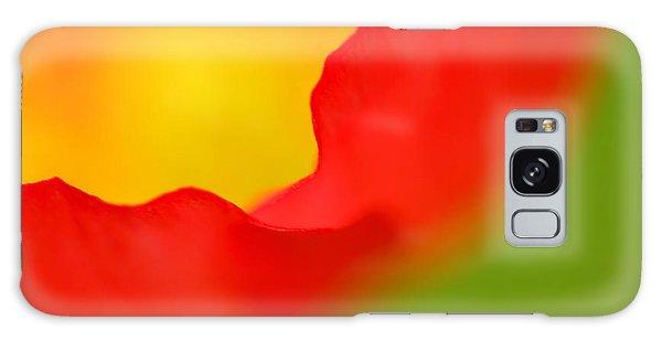 Close Up Galaxy Case - Poppy by Silke Magino