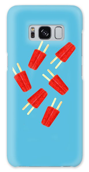 Desert Galaxy Case - Popsicle T-shirt by Edward Fielding