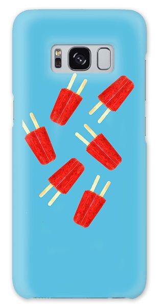 Summer Galaxy Case - Popsicle T-shirt by Edward Fielding