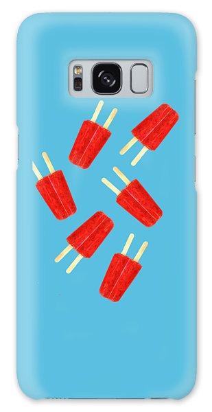 Galaxy Case - Popsicle T-shirt by Edward Fielding