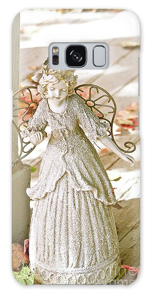 Porch Angel In The Fall Galaxy Case