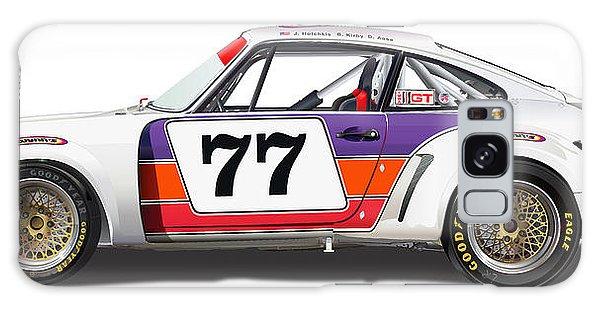 Porsche 1977 Rsr Illustration Galaxy Case