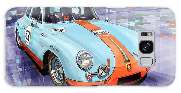 Car Galaxy S8 Case - Porsche 356 Gulf by Yuriy Shevchuk