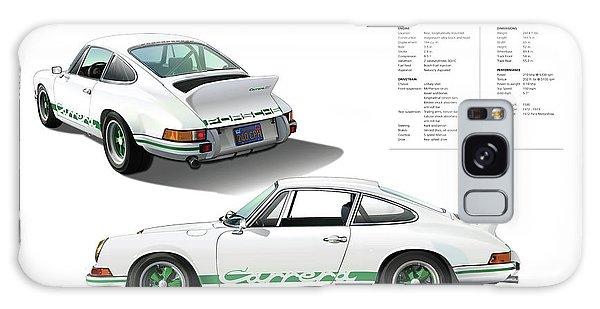 Porsche 911 Carrera Rs Illustration Galaxy Case