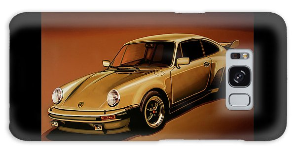 Coupe Galaxy Case - Porsche 911 Turbo 1976 Painting by Paul Meijering