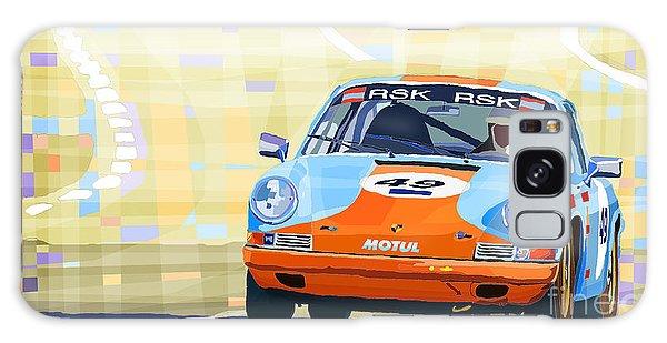 Automobile Galaxy Case - Porsche 911 S  Classic Le Mans 24  by Yuriy Shevchuk