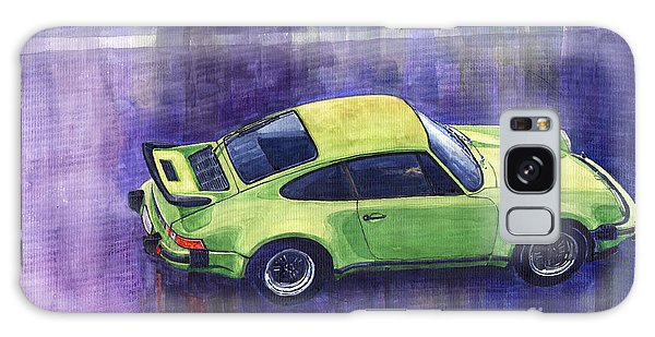 Car Galaxy S8 Case - Porsche 911 Turbo Green by Yuriy Shevchuk