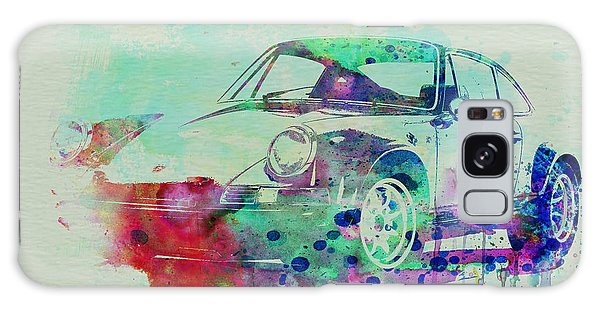Car Galaxy S8 Case - Porsche 911 Watercolor 2 by Naxart Studio