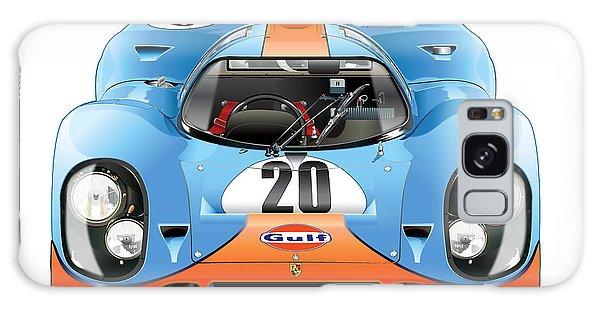 Porsche 917 Gulf On White Galaxy Case
