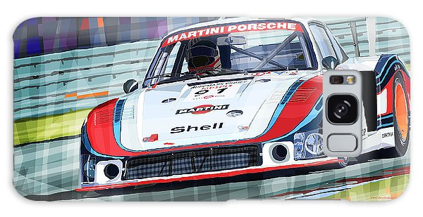 Coupe Galaxy Case - Porsche 935 Coupe Moby Dick Martini Racing Team by Yuriy Shevchuk