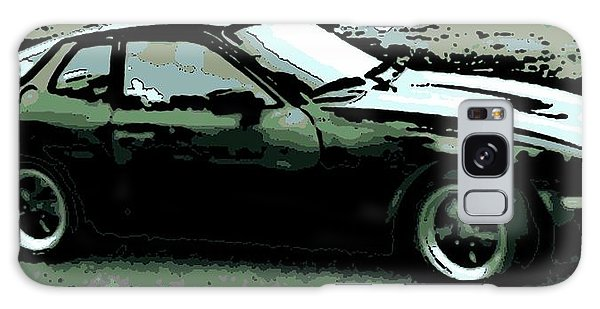 Porsche 944 On A Hot Afternoon Galaxy Case