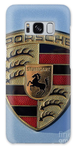Porsche Badge Galaxy Case