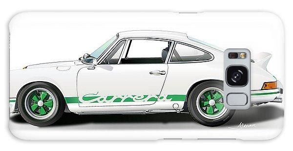 Porsche Carrera Rs Illustration Galaxy Case