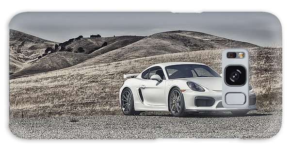 Galaxy Case featuring the photograph Porsche Cayman Gt4 In The Wild by ItzKirb Photography