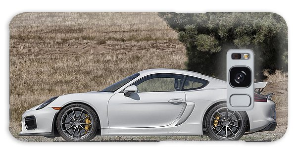 Porsche Cayman Gt4 Side Profile Galaxy Case