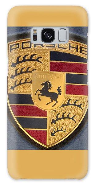 Porsche Emblem Galaxy Case by Lingfai Leung