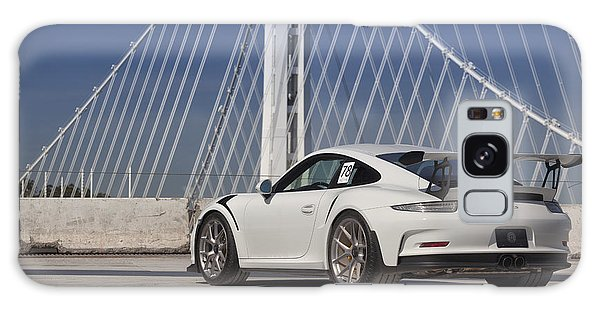 Galaxy Case featuring the photograph Porsche Gt3rs by ItzKirb Photography