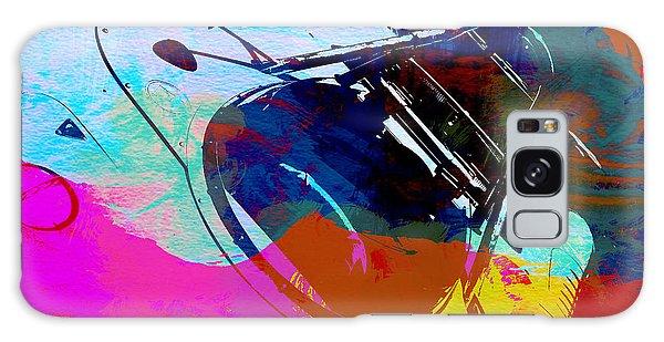 Automobile Galaxy Case - Porsche Watercolor by Naxart Studio